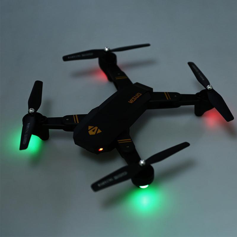 New XS809W Wifi FPV Drone Foldable Pocket RC Quadcopter - RTF 0.3MP HD Camera 360 Rolling 2.4G 6Axis Mini Drone