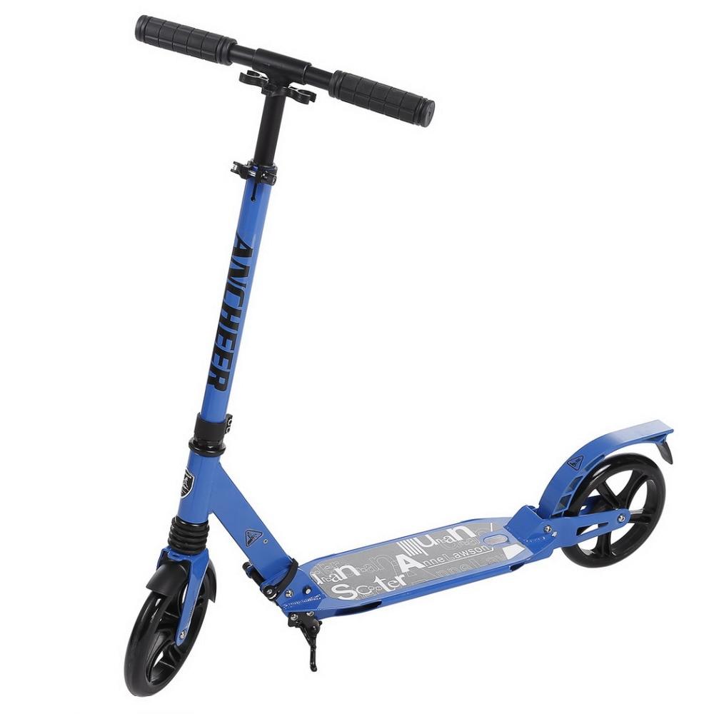 Prix pour 2017 hot new adulte pliable réglable kick scooter en alliage d'aluminium pliable hauteur réglable pied kick scooter patinete adulto