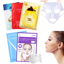 Silicone Mask for the Face Sheet Anti-off Firm V Gel Patches Slim Chin Essence Masks Skin Care Anti Aging