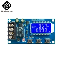 10A LCD Lead acid Solar Battery Charge Controller Protection Module Board charger Time switch battery capacity DC 6 60V