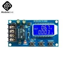 10a lcd chumbo ácido bateria solar carga controlador módulo de proteção placa carregador interruptor de tempo capacidade da bateria dc 6 60 v