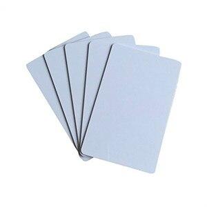 Image 2 - OBO HANDS MF Desfire EV1 2K/4K/8K Blank White Sublimation Printable NFC PVC Cards RFID 13.56MHz ISO 14443A Type