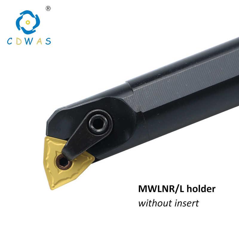 S20R-MWLNR08 20mmSHK×200mm Inner Lathe Boring Bar Tool for WNMG080408 WNMG432