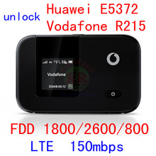 unlocked Huawei E5372 Vodafone R215 4G LTE wifi router CAT4 150Mbps 3G wireless lte 4g Dongle