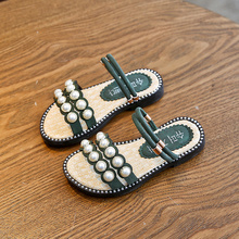 Cute Kids sandals for Girls Summer Children Shoes Pearl Design Slippers Anti-slip Sandals Fashion Indoor Outdoor Beach Shoes 1