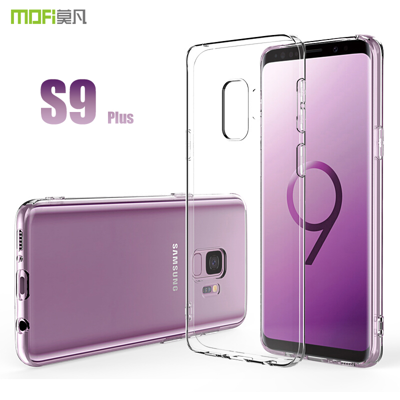 for Samsung S9 Plus Case Cover MOFI for Samsung Galaxy S9 S9P Soft TPU Transparent Silicone Cover Case S9 S9+ Soft Case 5.8/6.2