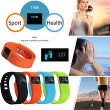 TW64 Bluetooth Fitness Tracker Smart Band Bracelet Heart Rate Sleep Monitor Pedometer Activity Monitor Smartband for Android s1 bluetooth 4 0 heart rate monitor smartband purple