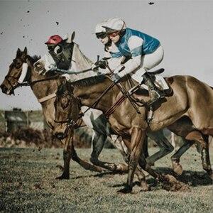 Image 3 - レーシング馬サドルパッド馬場馬術ソフトサドルパッド乗馬機器サドル馬術機器馬 c