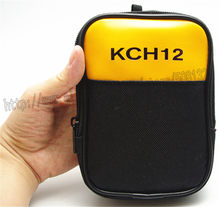 KCH12 Mini Soft Carrying Case Bag Use for Handheld Multimeter Meter FLUKE 101 106 107 101 KIT UNI-T UT33A /B/C/D UT136ABCD(China)