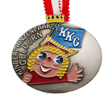 custom medals cheap Customized  Zinc Alloy Antique Silver Enamel Award Medal