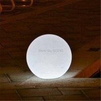 Открытый водонепроницаемый красочные сменная аккумуляторная пульта дистанционного управления 60 см круглые светодиодные Глобус мяч свет г