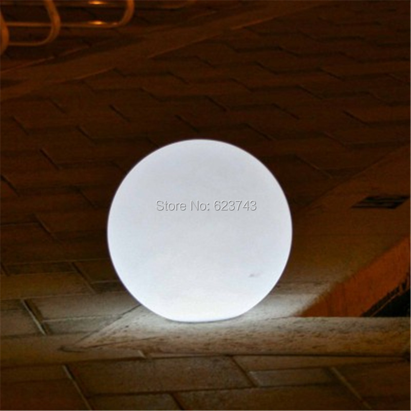 Outdoor waterproof colorful changeable rechargeable remote controller 60CM round LED globe ball light global lamp for decoration 4pcs lot colorful touch senor waterproof led ball round bars table light rechargeable as led ice bucket led globe floating tray
