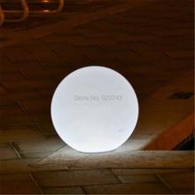 Открытый водонепроницаемый красочные сменные аккумуляторная дистанционного управления 60 см круглый из светодиодов глобус мяч свет глобальный лампы для украшения