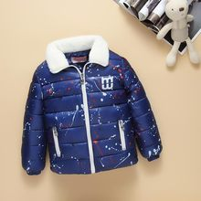 2016 New Fashion Children Winter Camouflage Jacket&coat And Liner Thick Down Jacket Cheap-infant-clothing Outerwear For Boy Girl