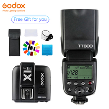 Godox TT600 Speedlite Flash Wireless 2.4G+X1T-F Transmitter Trigger photography for Fujifilm X-Pro2/X-T20 /X-T1