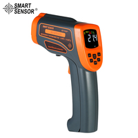 SMART SENSOR AT1150+ Non contact IR Infrared Thermometer 20:1 LCD Digital Temperature Meter Pyrometer 50 1150C with case
