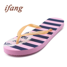ifang 2016 Women Summer Beach Flip Flops Women Victoria Lady Summer Shoes Top Brand Slim Soles Flip Flops Women's Sandals