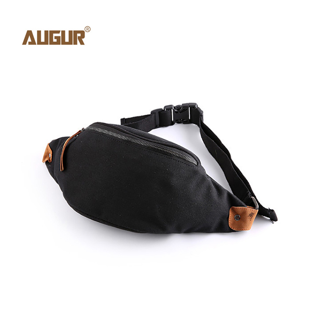 Canvas Chest Bag For Men  Chest Pack Casual Waist Belt Bag Fashion Small  Male Crossbody 40d6c758489d7