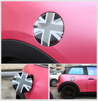 Union Jack ABS Fuel Tank Cap Decoration Case Cover Sticker Housing For Mini Cooper F55 F56 R55 R56 R60 Car Styling Accessories