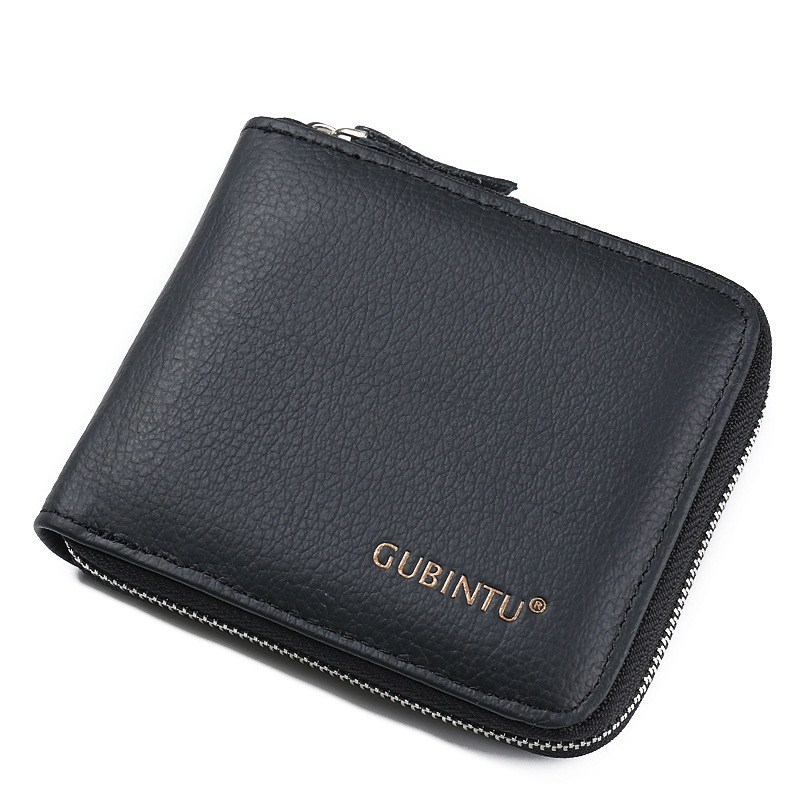 Men Wallet Male Zipper Purse Coin Pocket Short Male Purse Business Brand Wallets for men Card Holder Genuine Leather Men's Purse new anime style spiderman men wallet pu leather card holder purse dollar price boys girls short wallets with zipper coin pocket
