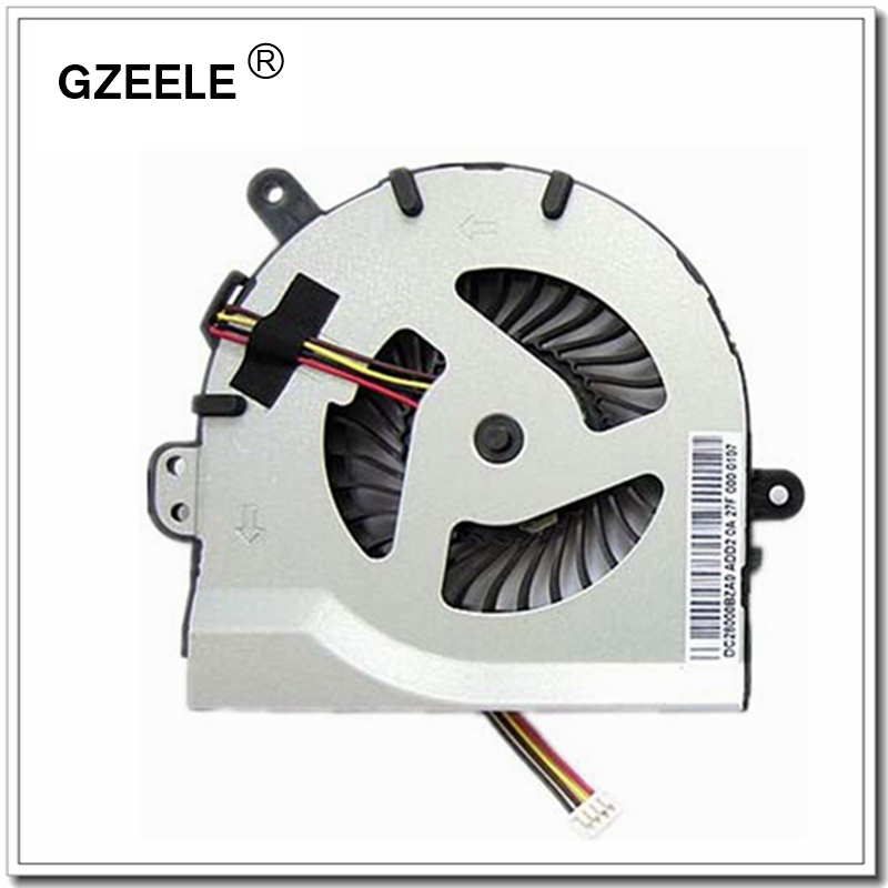 GZEELE Laptop Cpu Cooling Fan For Lenovo S300 S400 S405 S410 S415 S435 Series Notebook Replacement  Cooler  New 4 Lines Silver