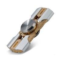 2017 New Tri-Spinner Fidget Toys EDC Hand Spinner Metal Fidget Spinner for ADHD Adults Children Relax Time Long Funny Toys
