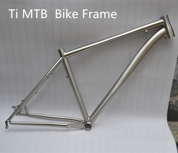Titanium MTB Frame Titanium Road Frame Customized Titanium Alloy Material Gr9 Bike Frame In Stock Factory Direct Sell