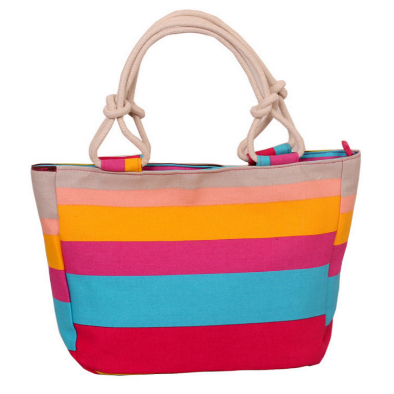 Fashion Folding Women Big Size Handbag Tote Ladies Casual Flower Printing Canvas Graffiti Shoulder Bag Beach Bolsa Feminina 1
