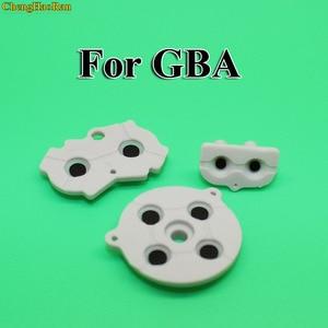 Image 3 - 30 100 setleri yeni GBA için kauçuk İletken yapıştırıcı düğmeler pad oyun Boy klasik GBA silikon başlangıç seçin tuş takımı