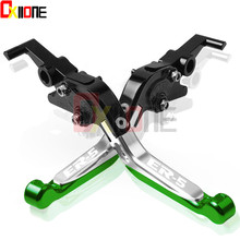 Motorcycle Accessories For Kawasaki ER-5 2004 2005 ER5 ER 5 Aluminum Adjustable Folding Foldable Extendable Brake Clutch Lever