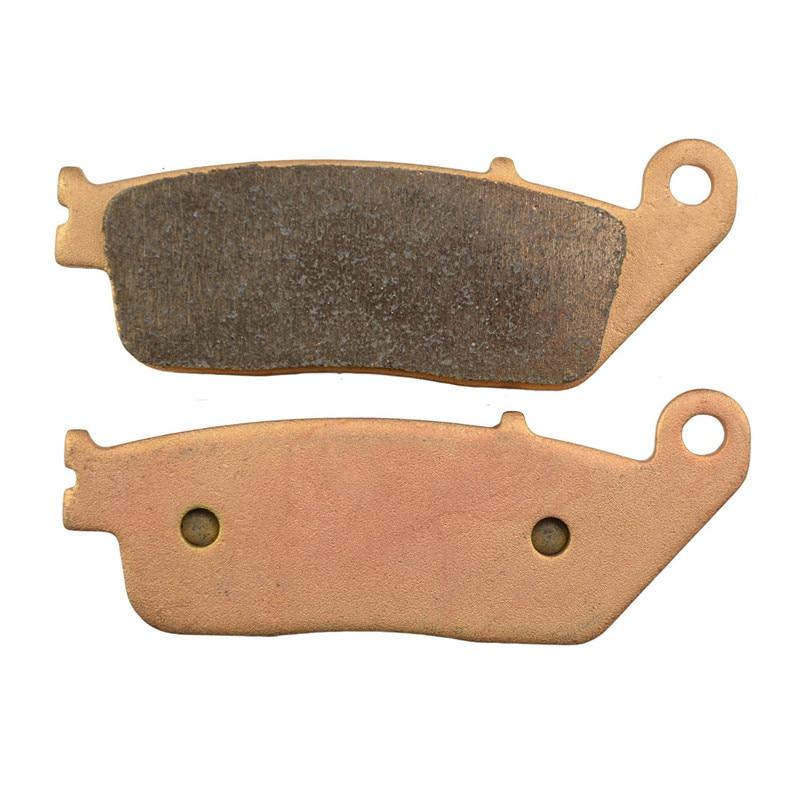 Motorcycle Parts Copper Based Sintered Brake Pads For HONDA XL600 XL 600 VR/VT Transalp 1994-1996 Front Motor Brake Disk #FA196  цены