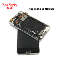 5 7 Black White For Samsung Galaxy Note 3 N9005 LCD Display Touch Screen Digitizer With