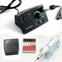 JEWHITENY 35000RPM 15W Nail Drill Electric Machine Manicure Cutter Accessory Machine Kits For Pedicure Manicure File Nail tools