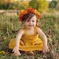 Criança baby girl dress bonito sólidos suspensórios um line dress vestidos de festa da princesa das crianças roupas da moda crianças