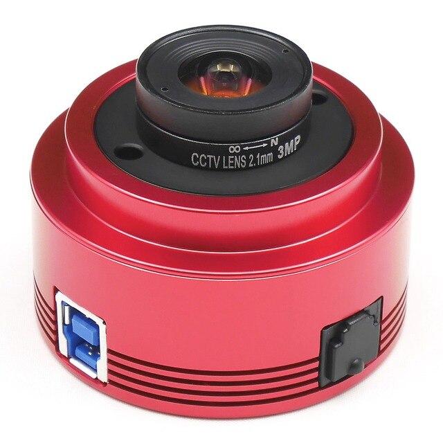 ZWO  ASI290MC   color camera asi planetarium astronomy solar lunar imaging / high speed driving usb3.0