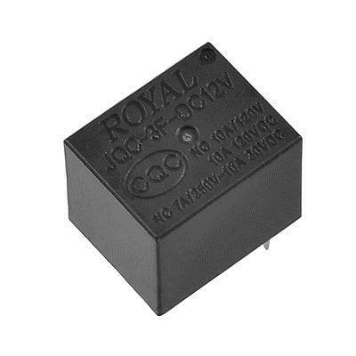 Subminiature Coil 12V DC SPDT NO 4 Pins Power Relay  цены