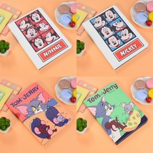 For Apple iPad 2 3 4 Case Cartoon Cute Mickey Minnie Mouse Tom Jerry Funny Protective Leather Stand Cover Full Skin