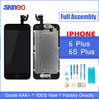 AAAAA Quality Full Set LCD Display For iPhone 6 S 6S Plus Complete LCD Screen Touch Digitizer Full Assembly Replacement Camera