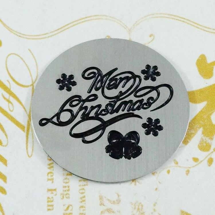 Venta caliente! 22mm Feliz Navidad Acero inoxidable flotante Locket ...