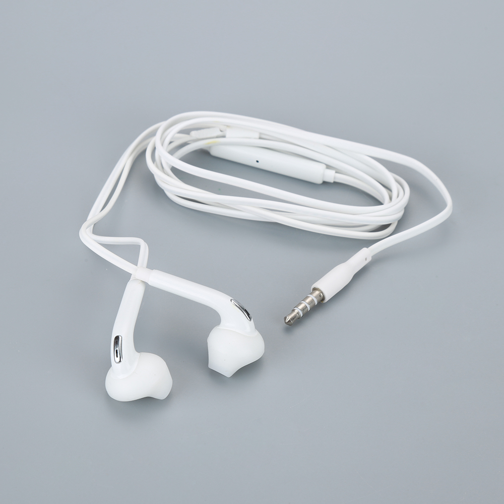 3.5mm In-Ear Wired Earphone Stereo Music Earphones Sport Running Headset With Mic Volume Control For Samsung S6 Xiaomi