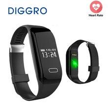 Оригинальный diggro H3 Водонепроницаемый Bluetooth Smart Браслет монитор сердечного ритма фитнес-трекер Smart Браслет для IOS Android
