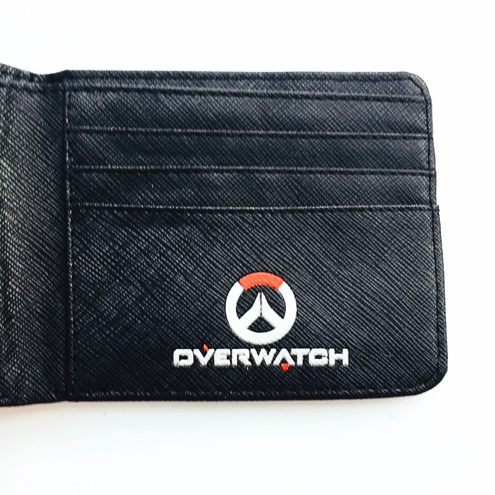 ced65bbe1 Overwatch Wallets Tracer Reaper Overwatch Purse Billetera For Teenager  Leather Money Bag W1009Q -in Wallets from Luggage & Bags on Aliexpress.com  | Alibaba ...