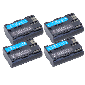 4 pces doscing 2000 mah BP-511 bp511 BP-511A baterias recarregáveis para canon powershot g6 g5 g3 g2 g1 eos 300d d30 d60 d50 40d 30d