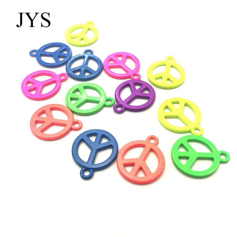 FREE SHIPPING 16MM 24PCS/LOT ZINC ALLOY CHARMS METAL CHARMS PEACE CHAMRS FOR JEWELRY FINDING FOR NECKLACE BRACELET