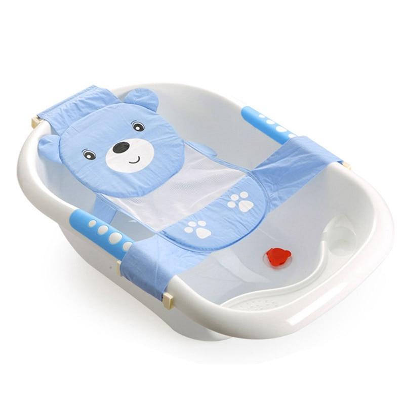 Safety Baby Shower Bath Mat New Born Baby Bath Mat Newborn Baby Bathtubs Anti-skid Bathing Infant Mat Infant Shower Products