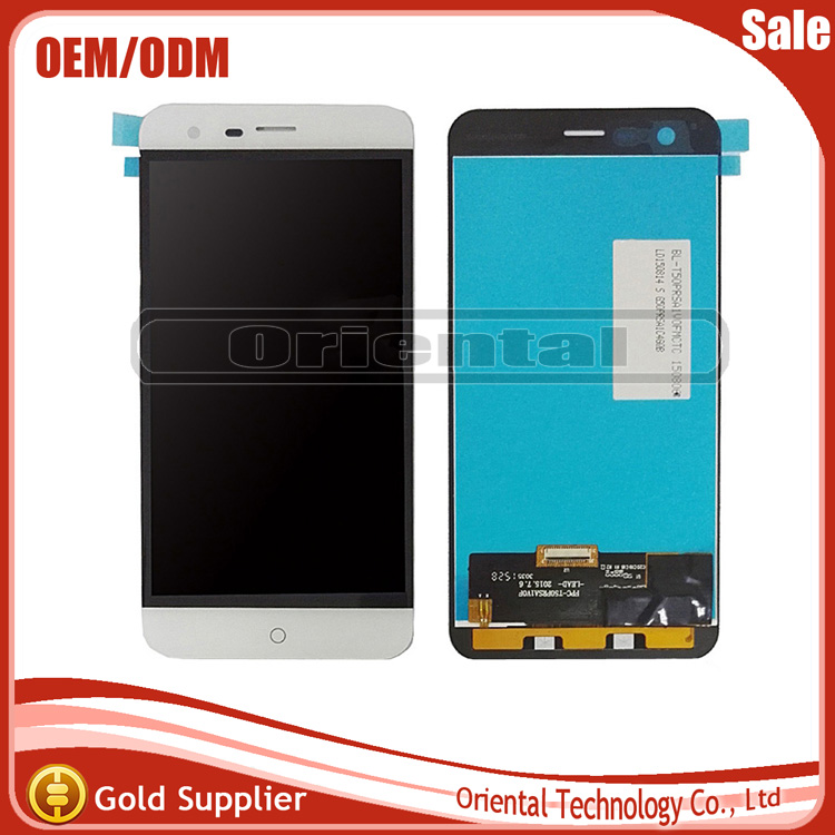 ФОТО Black 100% New Full LCD DIsplay+Touch Screen Digitizer Assembly Replacement For Ulefone Paris Free Shipping With Tracking Number