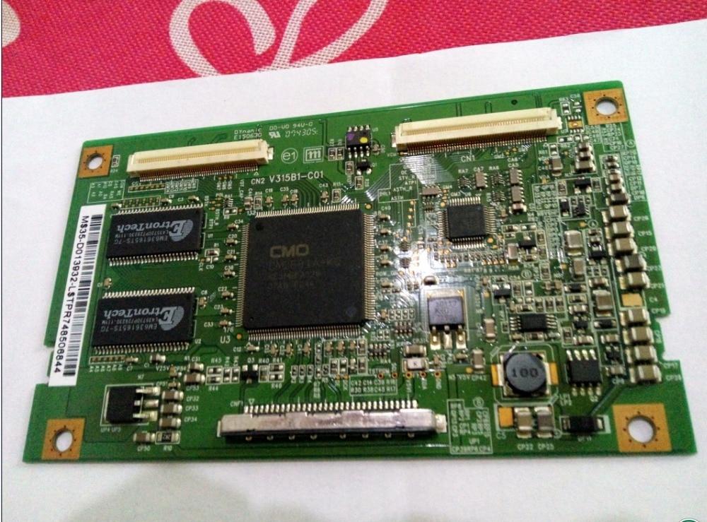 Original V315b1-c01 Connect With Logic Board V315b1-l01  T-CON Connect Board