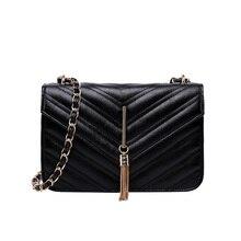 купить Free shipping New Trend Of Women's Shoulder Bag Diagonal Shoulder Bag Ladies Messenger Bag Tassel Handbags Wholesale Red Black по цене 1137.84 рублей