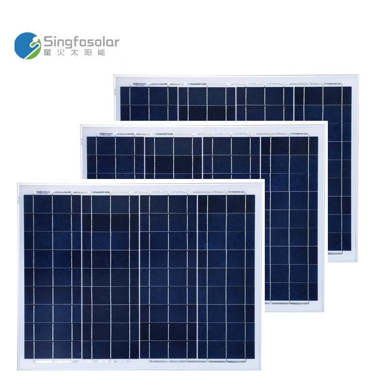 Painel Solar 50 w 12 v 3 Pçs/lote Placas Solares 150 W 36 V Batterie Solaire Portátil Sistema de Energia Solar Para início Camping Carro Barco Motorhome