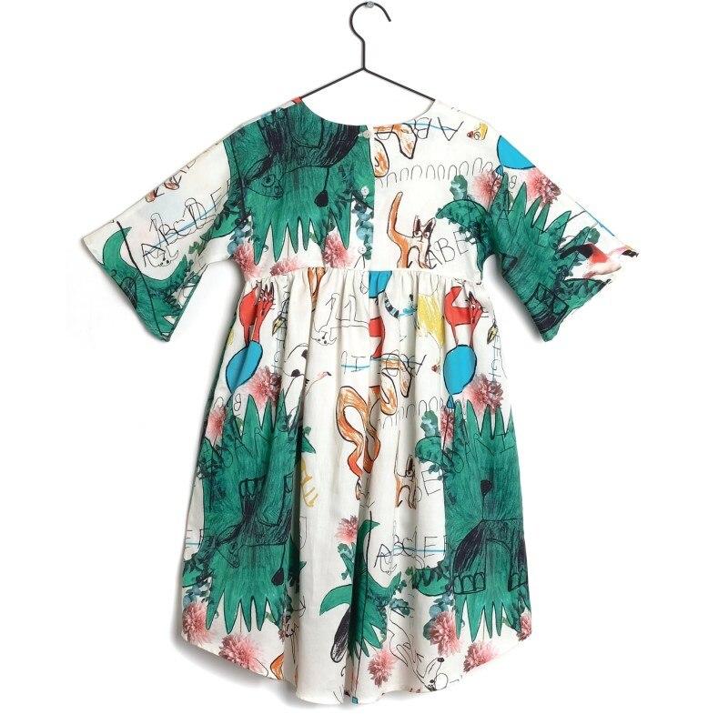 2019 SPRING SUMMER GIRLS DRESSES FOR GIRLS WOLF & RITA GIRLS PRINCESS DRESS HIGH QUALITY KIDS CLOTHES VESTIDOS GIRLS CLOTHING 2